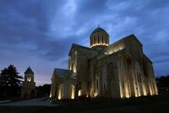 Domkyrkan av Dormitionen eller den Kutaisi domkyrkan royaltyfri bild