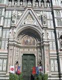 Domkyrkan av Florence Italy Arkivfoto