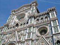 Domkyrkan av Florence Italy Arkivfoton