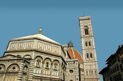 Domkyrkan av Florence Italy Fotografering för Bildbyråer