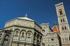 Domkyrkan av Florence Italy Royaltyfri Foto