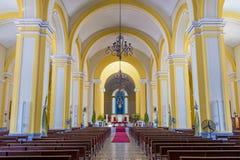 Domkyrkan av Granada i Nicaragua Royaltyfri Fotografi