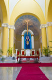 Domkyrkan av Granada i Nicaragua Royaltyfria Foton
