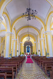 Domkyrkan av Granada i Nicaragua Royaltyfria Bilder