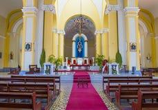 Domkyrkan av Granada i Nicaragua Arkivbild