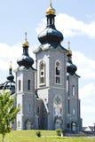 Domkyrkan av omgestaltningen, Cathedraltownen markham Kanada Arkivbilder