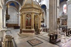 Domkyrkan av San Martino Royaltyfri Fotografi