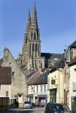 Domkyrkan av ser i Frankrike royaltyfria bilder