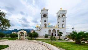 Domkyrkan av St John Vladimir, stång, Montenegro Royaltyfri Fotografi