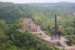 Domkyrkan av Veliko Tarnovo Arkivbild