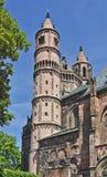 domkyrkan avmaskar Fotografering för Bildbyråer