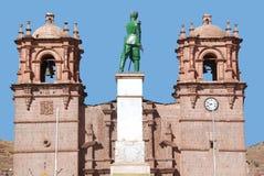 Domkyrkan Baselica San Carlos Borromeo Royaltyfri Fotografi