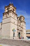 Domkyrkan Baselica San Carlos Borromeo Arkivfoto