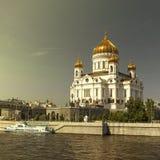domkyrkan christ moscow parts frälsare Arkivfoton