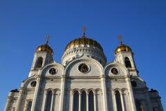 domkyrkan christ moscow parts frälsare Arkivbild