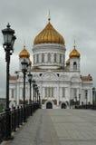 domkyrkan christ moscow parts frälsare Arkivfoto