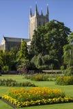 Domkyrkan för St Edmundsbury begraver in St Edmunds Arkivfoto