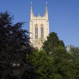 Domkyrkan för St Edmundsbury begraver in St Edmunds Royaltyfria Foton