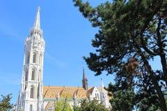 Domkyrkan i Budapest Arkivbild