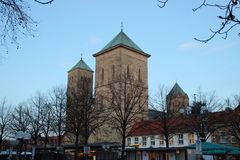 Domkyrkan i Osnabrück royaltyfri foto
