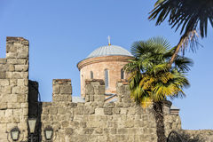 Domkyrkan i Pitsunda Arkivbilder