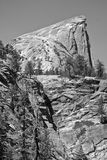 Domkyrkan vaggar - Yosemite Arkivbild