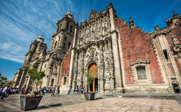 domkyrkastadsärkebiskop mexico Fotografering för Bildbyråer