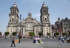 domkyrkastadsärkebiskop mexico Arkivfoto