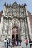 domkyrkastadsärkebiskop mexico Arkivbilder