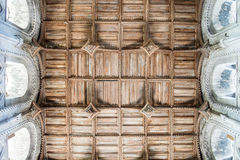 Domkyrkatak för St Davids Royaltyfria Foton