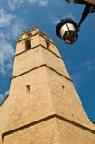 domkyrkatarragona torn Arkivbild