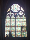 Domkyrkor av Paris Arkivbild