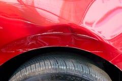 Dommages de carrosserie Images libres de droits