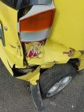 Dommages de voiture photo stock