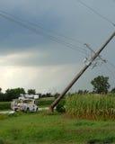 Dommages deux de tempête Photographie stock libre de droits