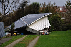 Dommages du cyclone AIE Image libre de droits