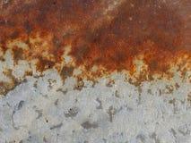 Dommages provoqués par la corrosion atmosphérique image libre de droits