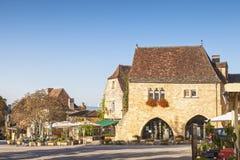 Domme, Aquitaine, Γαλλία στοκ εικόνα