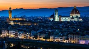 Domo (catedral), Florença, Toscânia Imagem de Stock