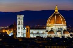 Domo (catedral), Florença, Toscânia Imagens de Stock