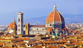 Domo da catedral de Florença fotografia de stock royalty free