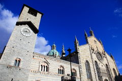 Domo de Como, Italy foto de stock