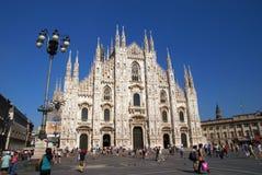 Domo de Milão Foto de Stock Royalty Free