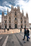 Domo de Milão, Italy. Foto de Stock Royalty Free