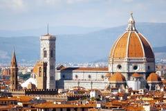 Domo em Florença Italy fotos de stock