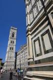 Domo Firenze Campanile di Giotto Foto de Stock Royalty Free