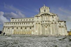 Domo no dei Miracoli da praça, Pisa Imagens de Stock