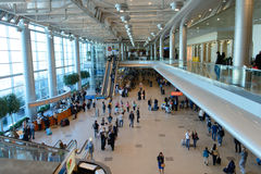 Domodedovo airport interior Royalty Free Stock Photography