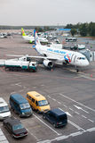 Domodedovo airport in Moscow, Russia Royalty Free Stock Photo