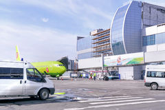 Domodedovo Airport Stock Photography